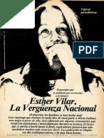 Satiricón Nº18 Reportaje a Esther Vilar
