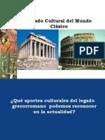 Legado Cultural Mundo Clasico
