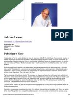 Ashram Leaves [ Wtt]