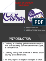 Project on Cadbury
