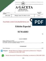 2019-03-15 Decreto 08-2019 Reforma a Decreto 01-2013 Reglamento Ley 822