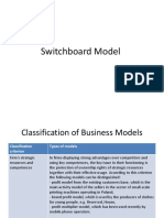 Switchboard Model Ppt