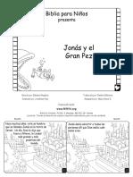 Jonah and the Big Fish Spanish CB6