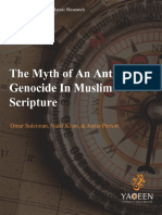 The Myth of an Antisemitic Genocide in Muslim Scripture