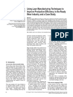 2013-4-16- p Using Lean Manufacturing Techniques to Improve Production Efficiency in the Ready Wear Industry and a Case Study p (1)