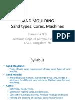 Sand Moulding