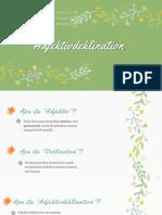 Adjektivdeklination (2) TERBARU