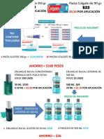 Rendimientos de Productos I