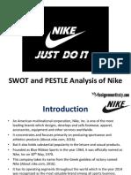 SWOT and PESTLE Analysis of Nike