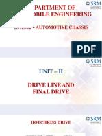 15ae302- Driveline and Final Drive