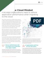 Adopting cloud mindset