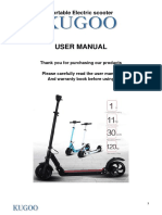 KUGOO S1 Manual - English