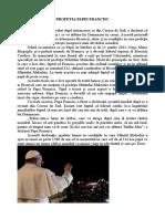 Profetia Papei Francisc