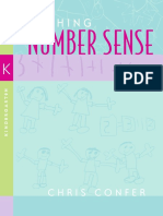 Chris Confer - Teaching Number Sense_ Kindergarten (2005).pdf