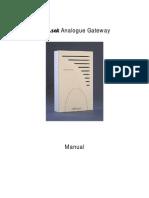 Manual Analog Gateway 2