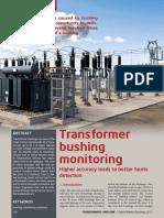 Transformer Bushing Monitoring