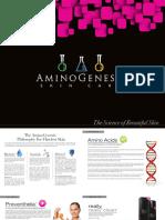 Aminogenesis Brochure