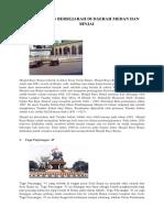 Angunan Bersejarah Di Daerah Medan Dan Binjai