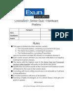 Exune-Lite2015SeniorQuizCrosswordHardwarePrelims