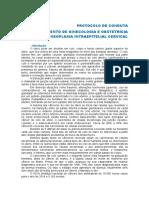 Aula g03 Neoplasia Intraepitelial Cervical 2015