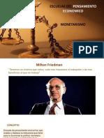 Presentacion de Monetarismo