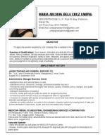 Archon Umipig Resume 2018 CV