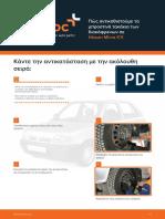 GR Pos Antikathistoume Ta Mprostina Takakia Ton Diskophrenon Se Nissan Micra K11