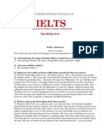 IELTS Speaking Test 5 (Your home area, Describe a problem that affects the environment).docx