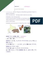Hokkaidoo Kuma Chuui Hoo Hatsurei