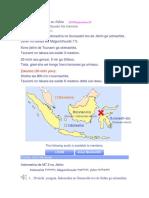 Indoneshia de M7 5 No Jishin
