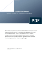 12 Pitfalls of IT Systems Management