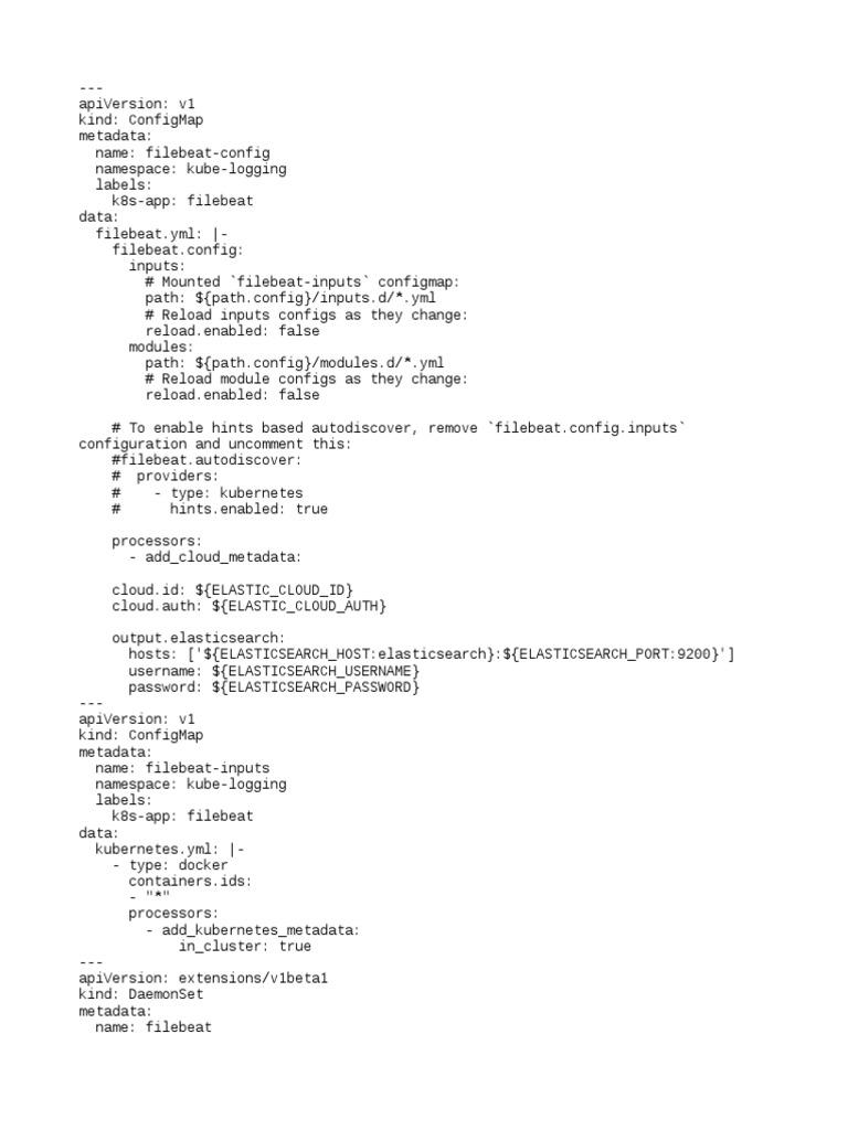 Chandra Filebeat | Data Management | Computer Engineering