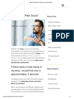 Who Hires a Male Doula-Become a Doula With ProDoula