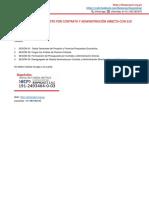 Costos y Presupuestos Por Contrata y Administración Directa