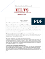 IELTS Speaking Test 8 (Your Friends, Describe an Interesting Historic Place)