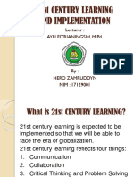 21st century learning to implementation