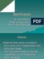 Sterilizarea