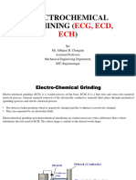 electrochemical machining ppt