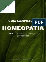 Livro Homeopatia