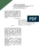 Affidavit of Desistance Ombudsman