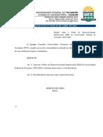 06-2016 - Plano de Desenvolvimento Institucional (PDI) da UFT - 2016-2020..pdf