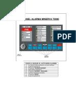 Operacion Alarma Minerva MXT2000