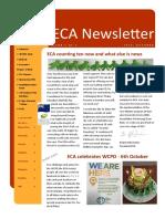 eca newsletter autumn 2018