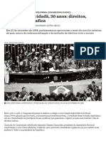 Constituição Cidadã, 30 Anos_ Direitos, Amarras e Desafios - Nexo Jornal