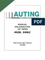 Manual Guarnicionadora 15580