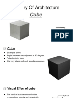 Theory Of Architecture (cube shape)
