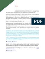 Sistema Operativo Linux. Exposicion