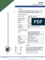 Marine VHF Antenna