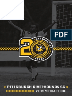 2019 Riverhounds SC Media Guide