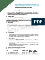 4.0 TDR DE MADERA